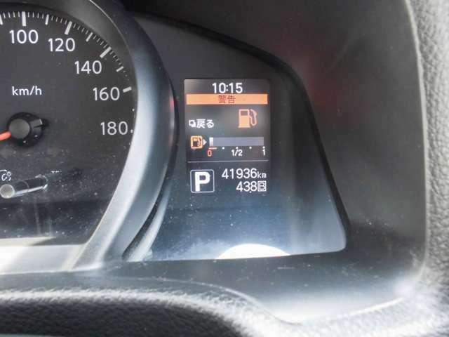 走行距離は41,936kmです。