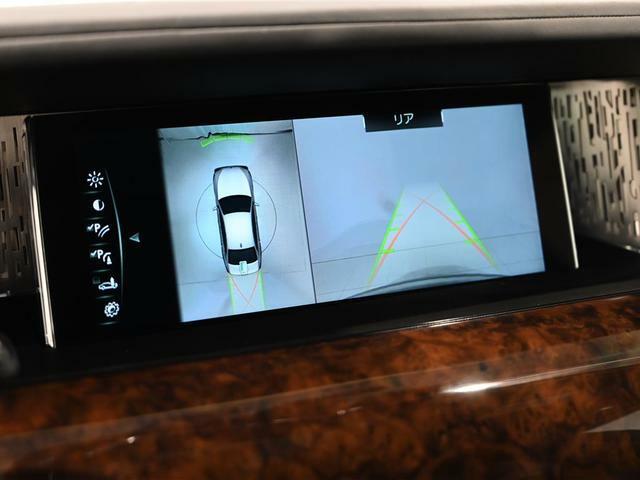 360度アラウンドビューモニター&センサーで狭いスペースの運転も安心です