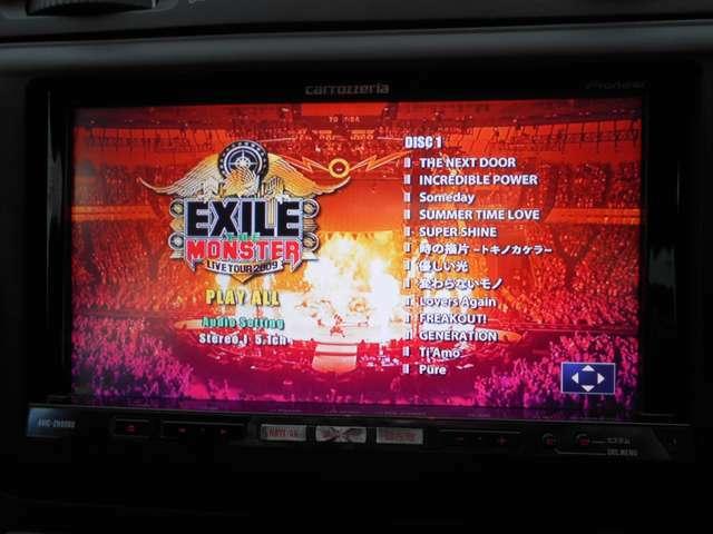 音楽自動録音機能のミュージックサーバーに加え、DVDの視聴も可能です!BOSE製のスピーカーは非常に音響が良く、ライブDVDや映画等を視聴すれば臨場感あふれるサウンドをお楽しみいただけます。本当に良い音がします