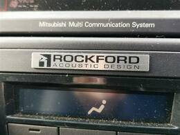 「ロックフォードサウンド」搭載でクリアーな高音に迫力の重低音をお楽しみ頂けます♪