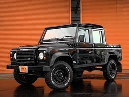 ランドローバー ディフェンダー 110ブラックピックアップ D-TB4WD正規D車Td5Wキャブ5速車黒革S