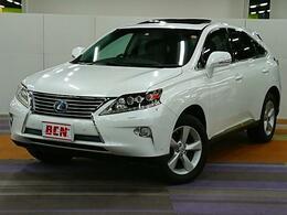 レクサス RXハイブリッド バージョンLエアサスペンション_4WD_クルコン