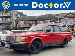 ボルボ 240エステート GL 社外ルーフラック CDデッキ 保証付