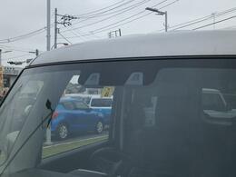 2つのカメラで人の目と同じように距離と形を捉えて歩行者や車を認識する。『デュアルカメラブレーキサポート』搭載!警報や衝突軽減ブレーキで衝突回避のサポートする先進の安全技術です!