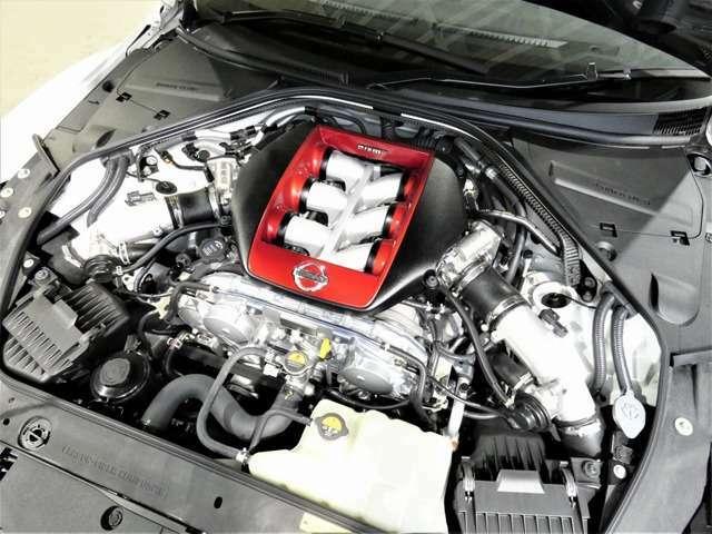 NISMO専用VR38型エンジン NISMO専用GT3タービン(IHI製高効率・大容量ターボ)