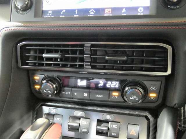 オートエアコン エアコン左右独立温度調整機能〈運転席・助手席〉