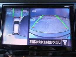 アラウンドビューモニター付でむずかしい縦列駐車もラクラクです。