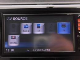 ワンセグTV、純正ディーラーオプションナビ搭載