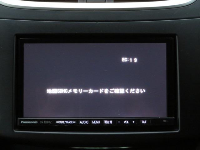 純正SDナビ/フルセグTV/CD/DVD/Bluetoothに対応しています。