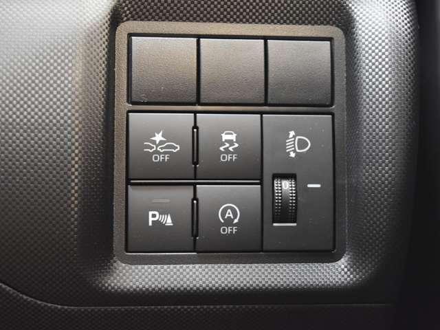 衝突被害軽減ブレーキや車線逸脱警報、人気装備の踏み間違い防止も搭載されています。安全装備がセーフティードライブをアシストしてくれます♪