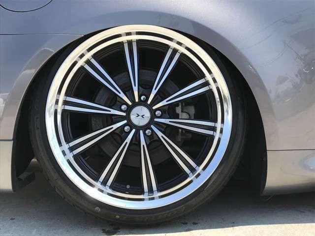 ウェッズ製マーベリック110S!ステップリム20インチアルミホイール装着!タイヤは4本新品です!