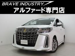 トヨタ アルファード 2.5 S タイプゴールド 新車モデリスタエアロ 3眼 両電スラPバック