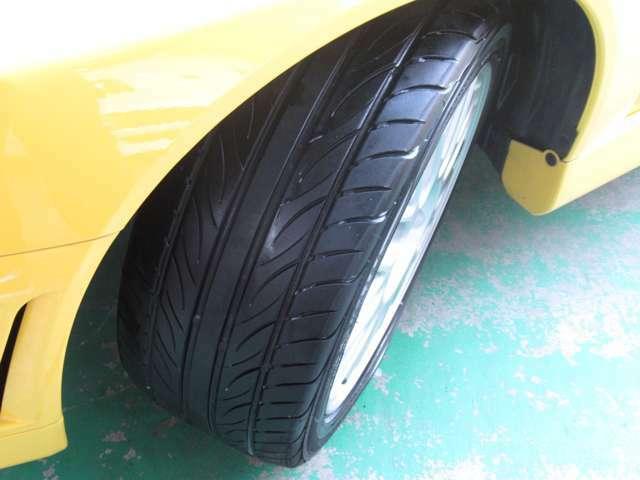 タイヤの溝もまだまだあります☆
