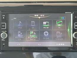 ナビ機能だけではなく、音楽録音、DVD再生機能、フルセグTV、Bluetooth機能つきであなたのドライブを快適にサポート♪