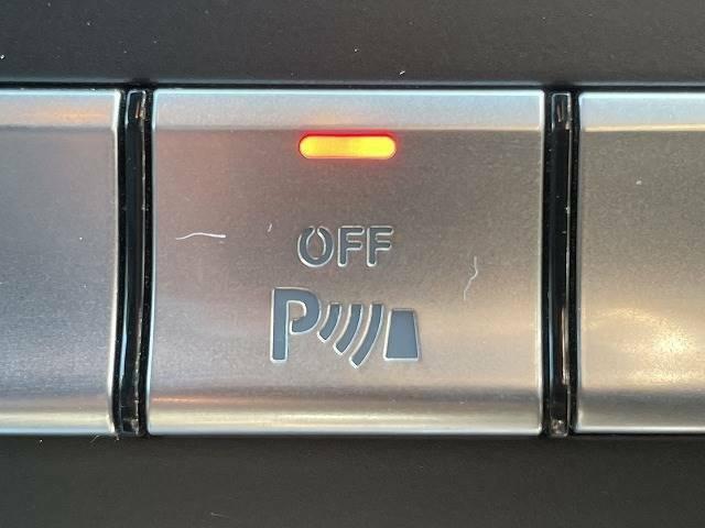 【パーキングセンサー】装備で駐車が苦手な方も安心です。