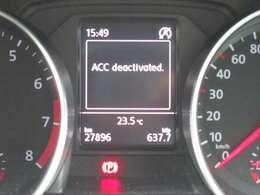 先行車両との距離を適切に保ちながら追従する「アダプティブクルーズコントロール」が装備されています。