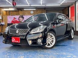 トヨタ クラウンアスリート 3.5 Gパッケージ 黒革電動シート 純正HDDナビ Bモニター