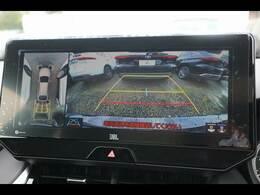 「フルカラーアラウンドビューモニター」を装備で駐車が苦手な方でも安心です。