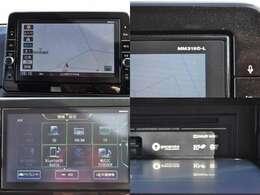 ☆純正9インチメモリーナビ(MM319D-L)です。フルセグTV、DVD再生、CD録音やBTオーディオにも対応しています。