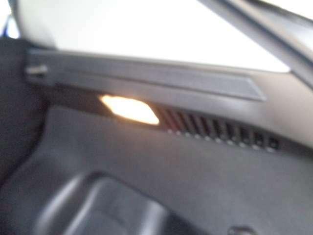 トランク用のライトは、夜間等荷物の出し入れに便利です。