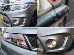 車外の明るさに応じて自動でライトを点灯・消灯するオートライトシステムを装備 ヘッドライトはディスチャージヘッドライトを搭載!