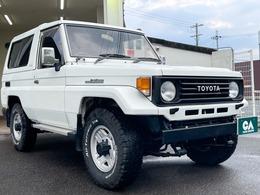 トヨタ ランドクルーザー70 4.2 ZX FRPトップ ディーゼル 4WD 5速MT/タイベル交換済/寒冷地仕様