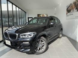 BMW X3 xドライブ20d Mスポーツ ディーゼルターボ 4WD 弊社デモカー 茶革 純正ナビ地デジ