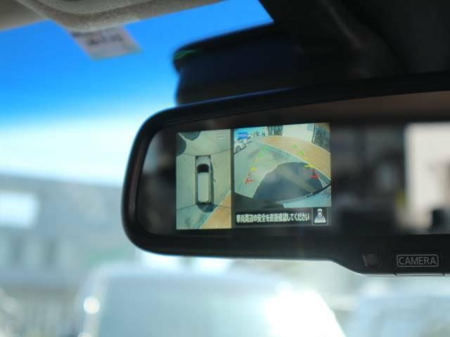 アラウンドビューモニターを装備。フルカラーで周囲の安全確認もカンタンです。