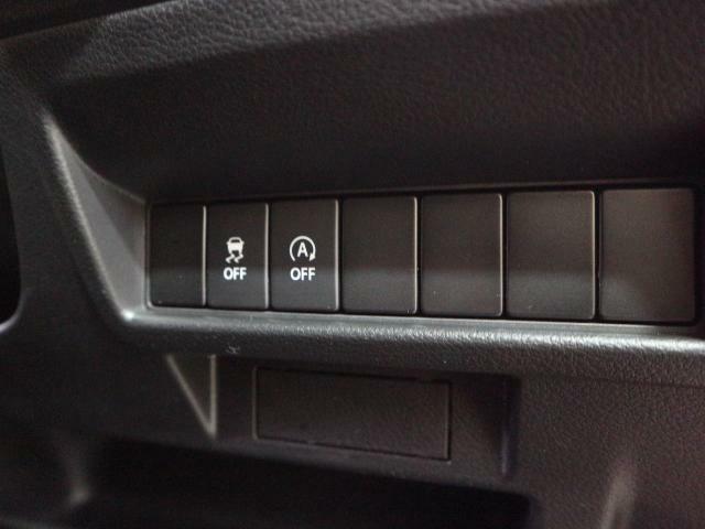 アイドリングストップはボタン一つでオンオフ可能です。