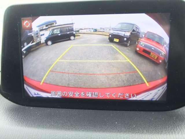 駐車するとき、後ろのスペースがどれくらいあるか分からず、うまく停められない・・なんてことを防ぐ、バックカメラを装備!