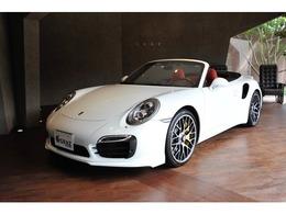ポルシェ 911カブリオレ ターボS PDK ディーラー車 カーボンインテリア