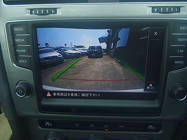 バックモニター付き!駐車時の安全確認も安心して行えます。