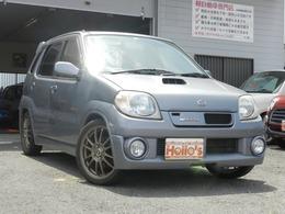 スズキ Kei 660 ワークス 5速テイン車高調レカロマフラエアクリTV