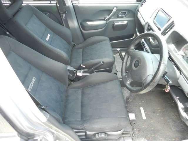レカロシート 運転席シートローポジション化