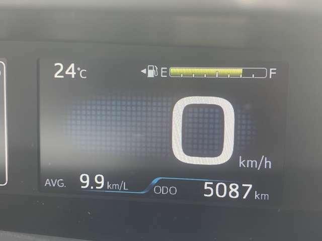 走行少ない5070km!ほぼ新車おろしたての状態です。
