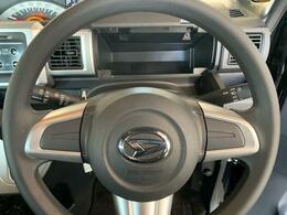 ハンドルの高さ調節可能!自分の運転スタイルで!