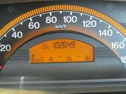 走行距離はおよそ103,000kmです。