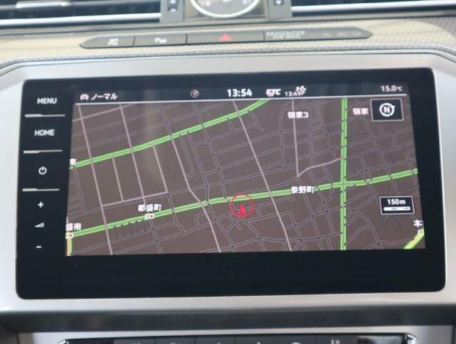 ディスカバーPRO大画面9.2インチタッチパネルの高性能ナビには、フルセグTV+CD+DVD+SDカード+Bluetooth+Volkswagen Car-Netの機能を搭載しています。