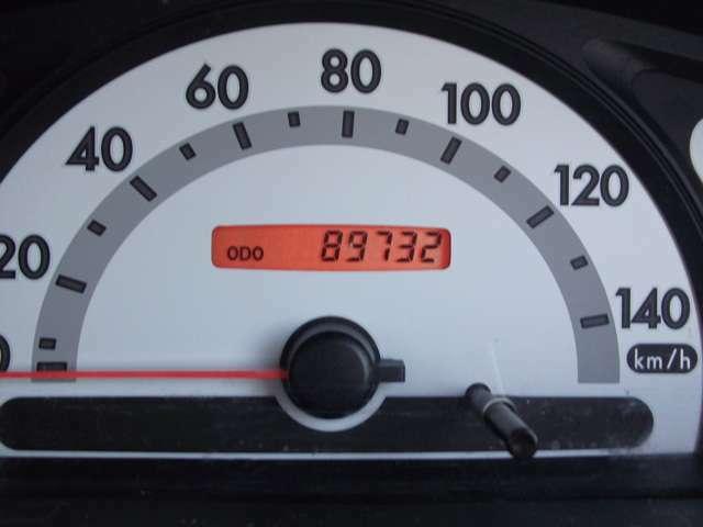 走行距離89732キロ