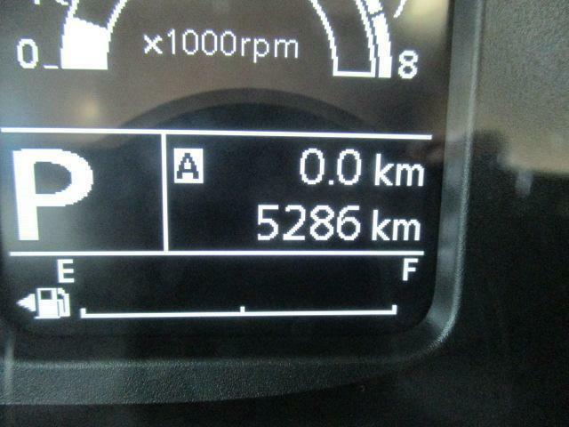 走行距離5,286km