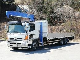 日野自動車 レンジャー セルフクレーン 9.1トン タダノ4段 ハイジャッキ ウインチ ラジコン