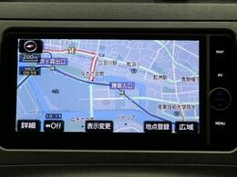 純正HDDナビゲーション☆タッチパネルで操作も簡単!!トヨタ純正で安心です。