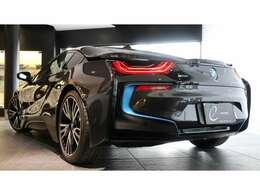 ・BMW iシリーズ/i8クーペ、CARPOデザイン、右ハンドル、H30~R2ディーラー点検記録簿有が入庫しました!!