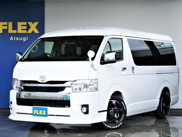 新車未登録のハイエースワゴンガソリン2WD!!