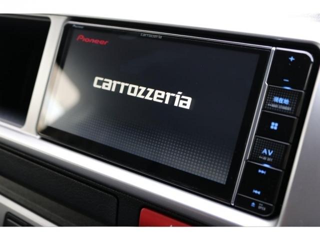 新品のカロッツェリア製SDナビが装備されており、最新の便利機能が多数搭載されております!