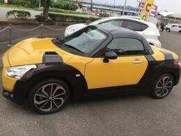 側面からの写真です。ご希望のお車が見当たらない場合は、弊社スタッフがしっかりとお客様のご要望に合ったお車をお探し致します。