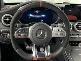 AMGドライブコントロール付きステアリングコンディションもGOOD
