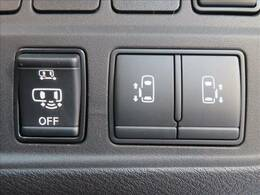 ミニバンの必須アイテム、両側電動スライドドア。