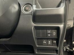 アイドリングストップ機能付きで低燃費に貢献!ボタンもまとまっていて操作しやすいです。
