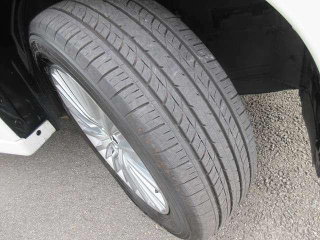 タイヤの溝はまだ大丈夫です